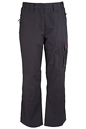 Mountain Warehouse Trek Womens Long Convertible Pants Black 2