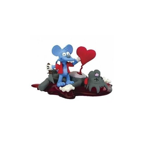 Simpsons Series 5 Valentines Day Itchy & Scratchy Bust-Ups Action Figure