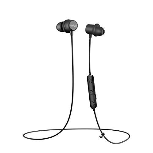 Bluetooth Headphones, Otium M10 Magnetic Wireless Earbuds, Sport in-Ear IPX 7 Waterproof Stereo Earphones (Bluetooth 4.1, Secure Fit Lightweight Design, CVC 6.0 Noise Cancelling Mic, Fast Pairing)