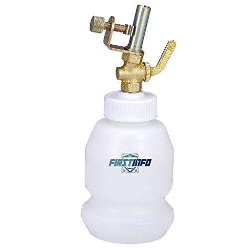 FIRSTINFO 33 Oz (1 Liter) Brake Service/Universal Automatic Brake Fluid Dispensing Bottle Filling Bleeder Bottle