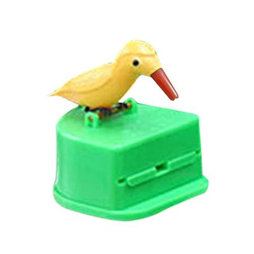 m·kvfa Cute Hummingbird Toothpick Dispenser Gag Gift Cleaning Teeth for Kitchen Dining Bar (B) ()