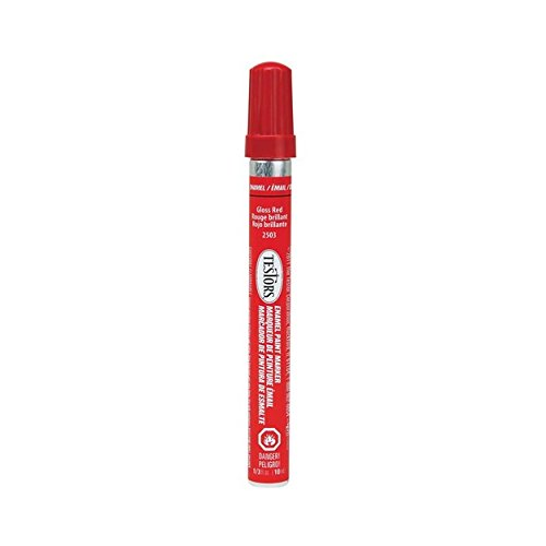 Testors Enamel Paint Marker-Gloss Red