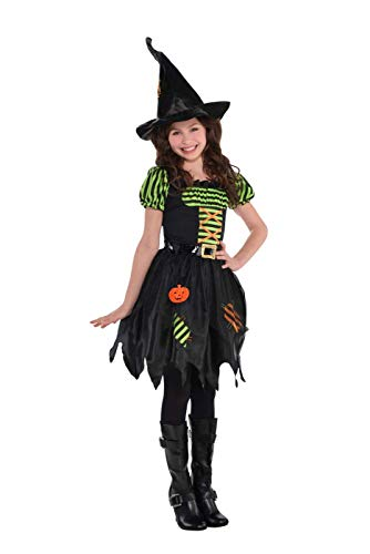 Scary Pumpkin Costumes Child - Amscan Costume Girl 841329 Pumpkin Patch