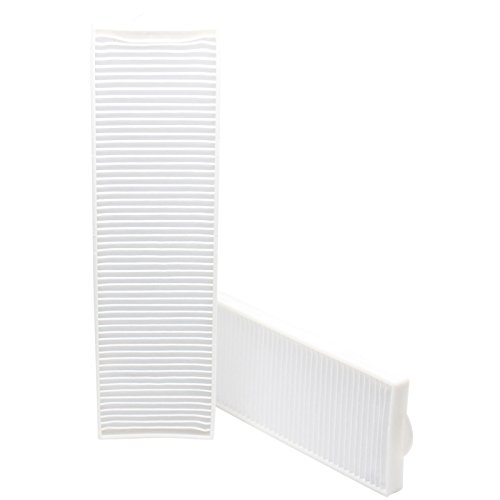 2-Pack Replacement Bissell 203-6608 Vacuum Pleated Post Motor Filter - Compatible Bissell Style 8, 14, 3091 HEPA Filter - Style 8 Hepa Media Post