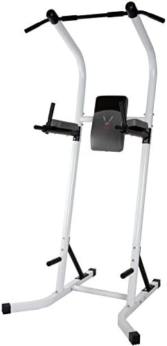 Body Champ Fitness Multi Function Power Tower Multi Station for Home Office Gym Dip Stands Pull Up VKR Space Saving PT600