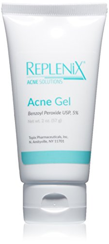 Replenix Acne Solutions 5% Benzoyl Peroxide Gel, 2 Oz