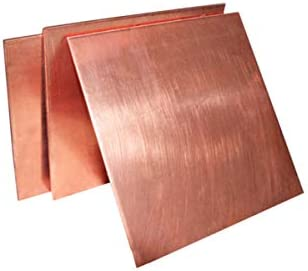 OLJF Brass Strip Copper Sheet Foil Metal Thin Plate Latten 300mm*200mm,0.8mm