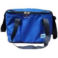 Piknik Çanta Ayarlanabilir Omuz Askısı 15 Litre 3 Saat soğuk tutabilen Termos Çanta (Mavi)