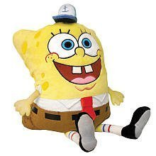 (Pillow Pets, Pee Wees, Nickelodeon Spongebob Squarepants, Spongebob, 11 Inches)