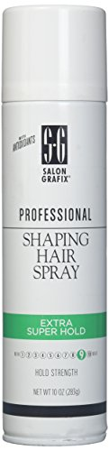 Salon Grafix Profession Shaping Hairspray, Extra Super Hold