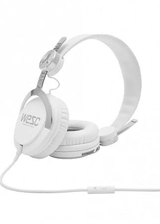 WeSC 7194001 - Auriculares diadema cerrados (3.5 mm), blanco