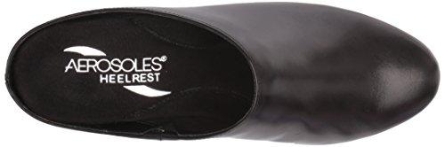 Pad Black Mule Aerosoles Crash Women's Leather qBwnT0E