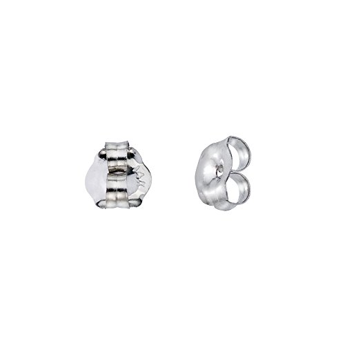 (14k White Gold Replacement Earring Backs (1 Pair))