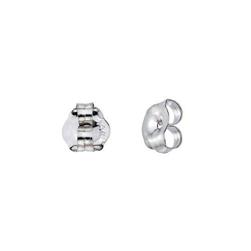 14k Back Post (14k White Gold Replacement Earring Backs (1 Pair))