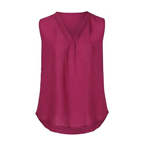Winered sans V paules Classique Mousseline Nues Mode Elgante Tee Casual Uni Fille Et Confortable Haut Tops Cou Tshirt Irrgulier Femme Manches Manche Shirt 7vqn8xBw