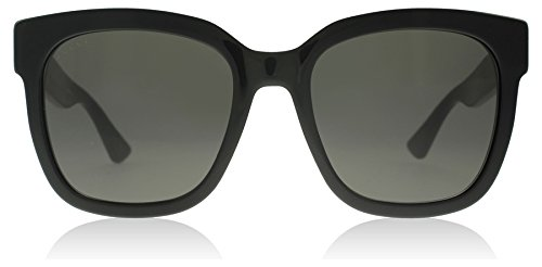 Gucci 0034S 001 Black 0034S Square Sunglasses Lens Category 3 Size - Mens Gucci Black Sunglasses