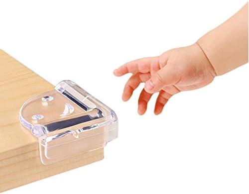 8 Protecteurs Dangles Protection Coin de 10 Caches Prises S/écurit/é de Courant avec Caches Prises /à M/écanisme Tournant Ulife Mall Pack de Securit/é pour Enfants 18 Pcs Kits S/écurit/é de B/éb/é