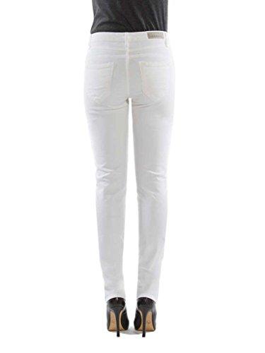 pour style femme taille unie normale taille Jeans couleur Pantalon velours 001 droit 752 Blanc Carrera normale atvXqURa