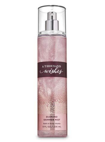 Bath and Body Works a Thousand Wishes Diamond Shimmer Mist 8 Fl Oz