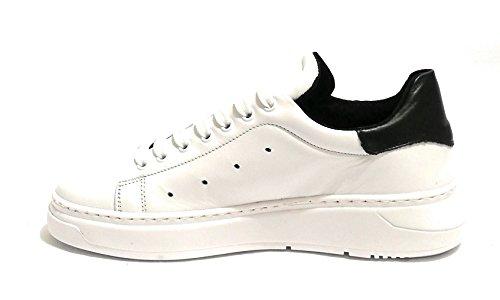 Bianco Scarpe Sneaker WILD U19TW02 Pelle TONY Uomo Nero nq7zOXHW