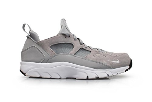 Nike Air Trainer Huarache Low, Zapatillas de Running para Hombre Gris / Blanco / Negro (Wolf Grey / White-Black)