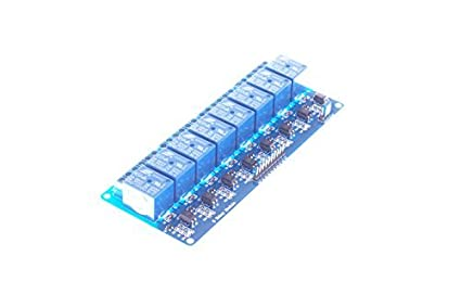 SMKAN® 8 Channel DC 12V Relay Module for Arduino Raspberry Pi DSP AVR PIC  ARM