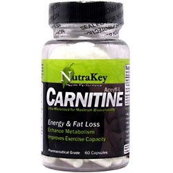 Nutrakey Acetyl L-Carnitine 60 Capsules