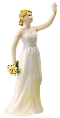 Weddingstar High Five, Bride Figurine