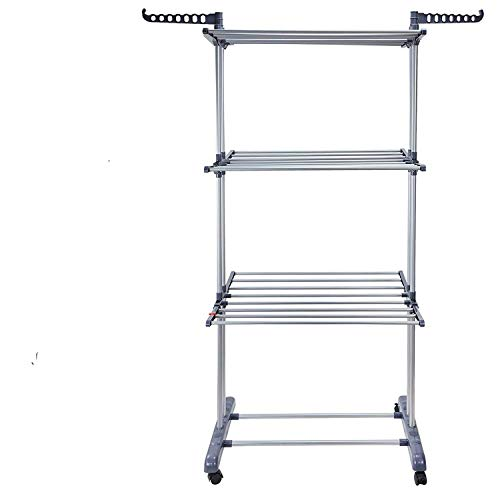 Used, Foldable 3 Tiers Clothes Airer Indoor Laundry Drying for sale  Delivered anywhere in Canada