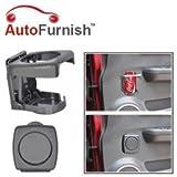 Autofurnish Foldable Car Drink Bottle Holder