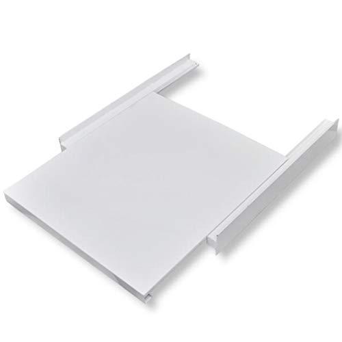 - Washing Machine Stacking Kit with Pull-Out Shelf White 23.6
