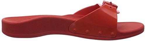 SUN sandalias Scholl Rot de coral abiertas material mujer Coral rojo sintético SCHOLL q5n5WtTB