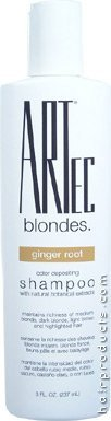 ARTEC Blondes Color Depositing Shampoo Ginger Root -
