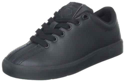K-Swiss 63100 Clean Classic L Running Shoe (Little Kid/Big Kid),Black,6 M US Big Kid