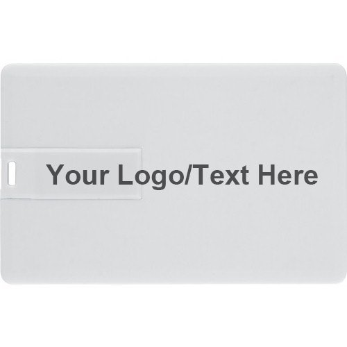 Personalized Diy Custom Logo Text 8Gb Credit Card Style Usb Flash Memory Stick Thumb Drive
