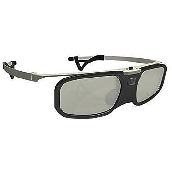 NO BRAND EUNN AS6 Bluetooth Obturador Activo Gafas 3D + Clip de ...
