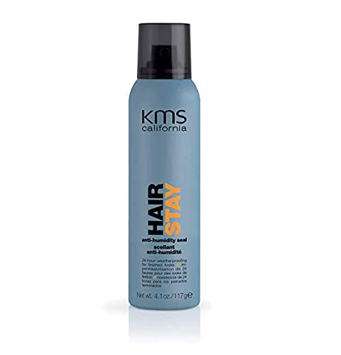 Hair Stay Medium Hold Spray - KMS California Hair Stay Anti Humidity Seal - 4.1 oz