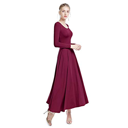 Womens Liturgical Praise Dresse Muslim Church Abaya for sale  Delivered anywhere in USA