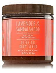 - Bath & Body Works Olive Oil Body Scrub Lavender & Sandalwood