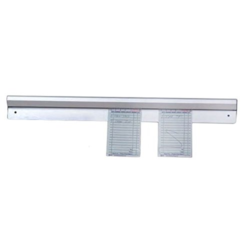 Order Aluminum Rack Slide (Aluminum Slide Ticket Rack / Check Rack / Order Rack - 36 Inch)