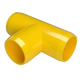 b1f6931b08105 FORMUFIT F114TEE-YE-4 Tee PVC Fitting