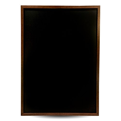 Vintage Wood Frame Premium Magnetic Chalkboard- 15.6''x 23.6'', Decorative Wall Mounted Blackboard, Great for Chalk Markers, Home Decor, Wedding and Restaurant Menu by Phantasia