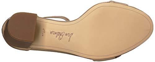Sam Edelman Women's Odila Heeled Sandal, Classic Nude Patent, 7.5 M US