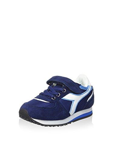 Diadora - Zapatillas de voleibol para hombre Azul Oscuro / Blanco