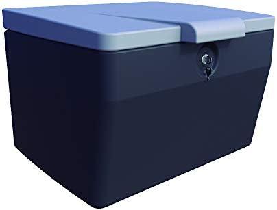 CAJÓN PORTAEQUIPAJES 120 litros. Color Gris Oscuro/Gris Claro: Amazon.es: Coche y moto