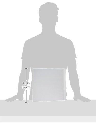 Avery Wilson Jones 3-Ring Binder 1 1//2 Inch Size Black Sleeve 11 x 8.5 Inches
