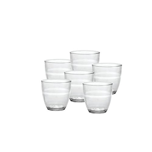 Duralex Made In France Gigogne 5-5/8 -Ounce Glass, Set of 6