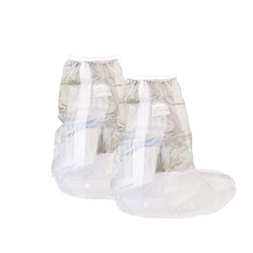 Shoe Covers, Waterproof Overshoes Reusable Anti-Slip, Rain Shoe Cases Boots for Men Women, Outdoor Cycling Fishing Garden