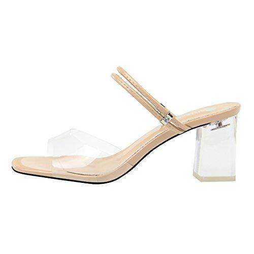 DS169 1 Sandales pour Nude MiyooparkUK Miyoopark Femme 7qwE55