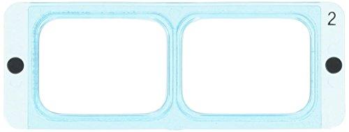 Optivisor Replacement Lens, 2, 1-1/2x, 20 Inch Range